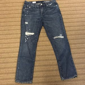 GAP Real Straight Jeans size 28 regular, EUC